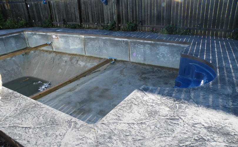Pool Renovation: Day 10a