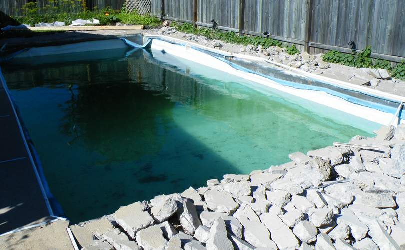 Pool Renovation: Day 1b