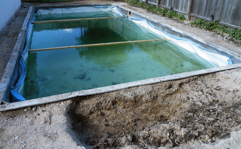 Pool Renovation: Day 2a