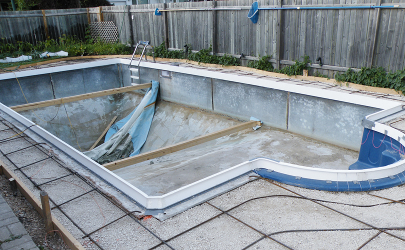 Pool Renovation: Day 8a