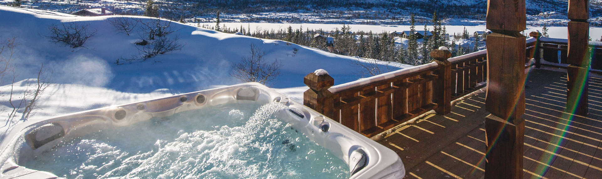 winter spa