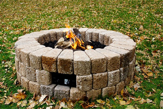 DIY Gas Fire Pit Burner Kit 38 for Round Fire Pits