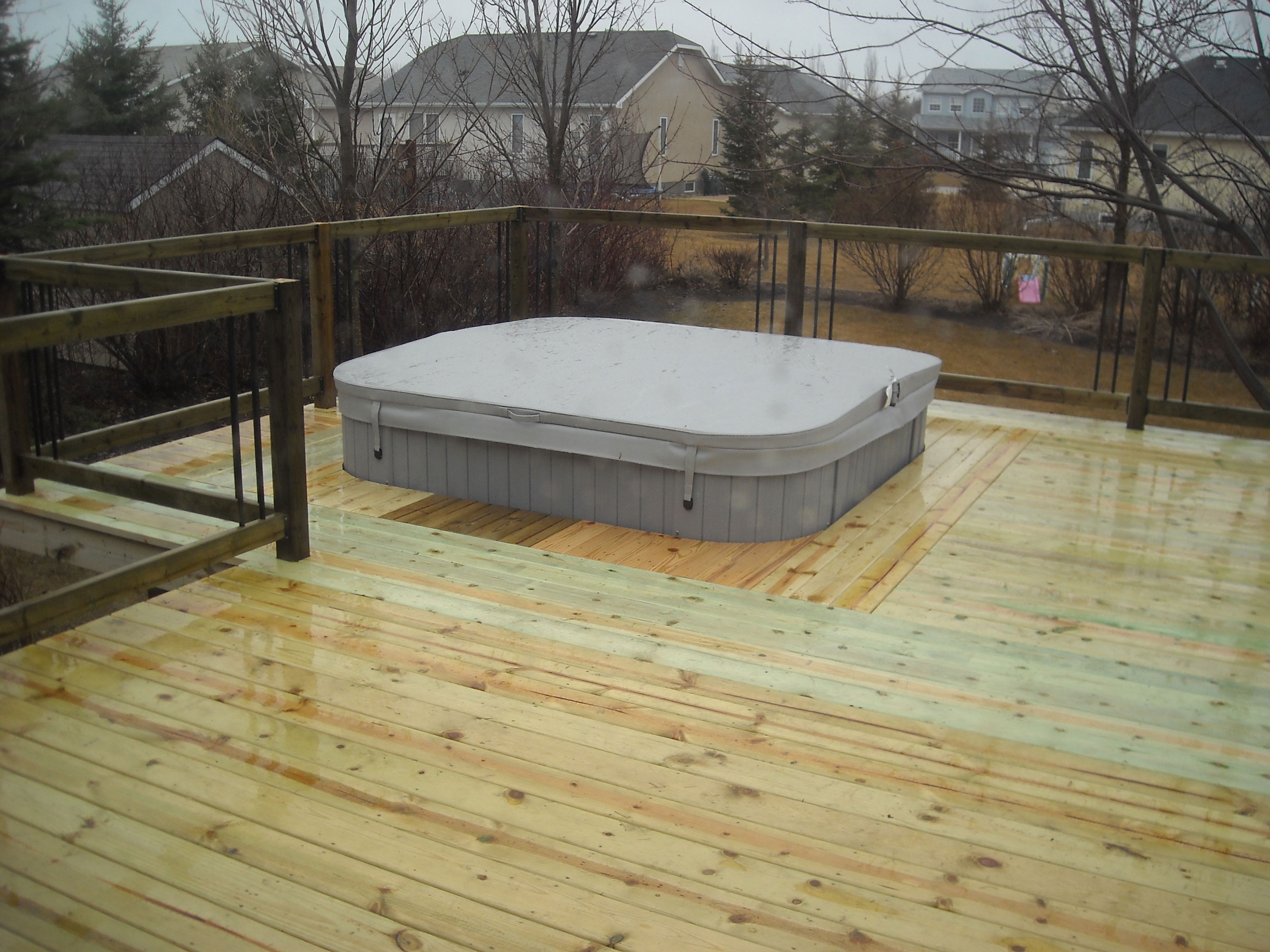 self posite pit designs swim hydropool sunk hot tub cleaning with fire deck into of unique a spa and