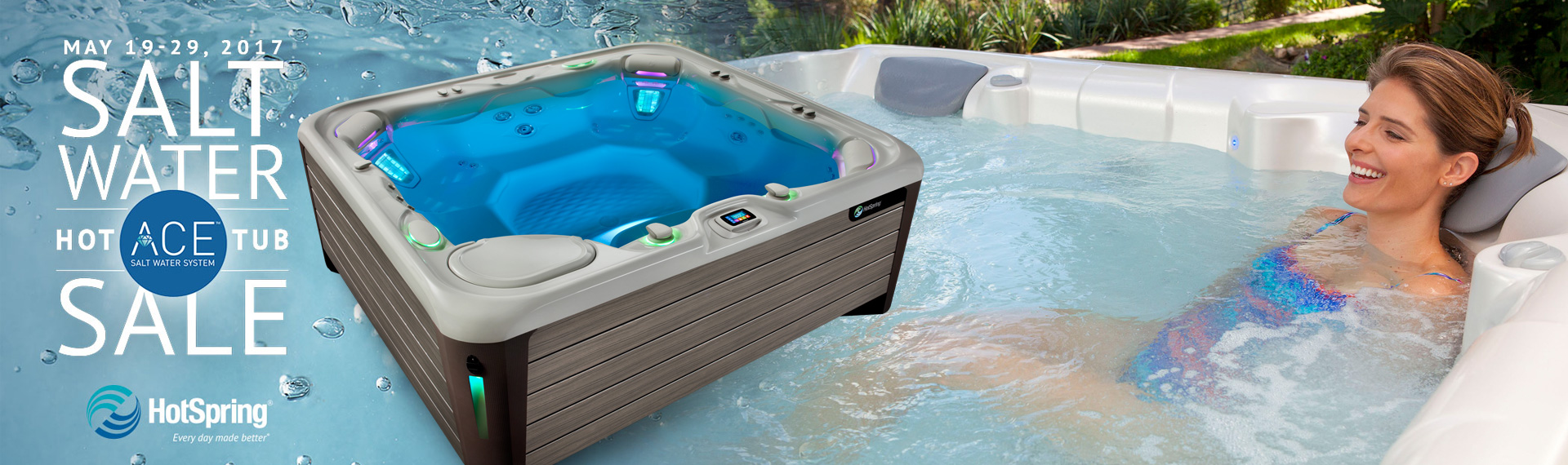 HotSpring FREE Ace Salt water System