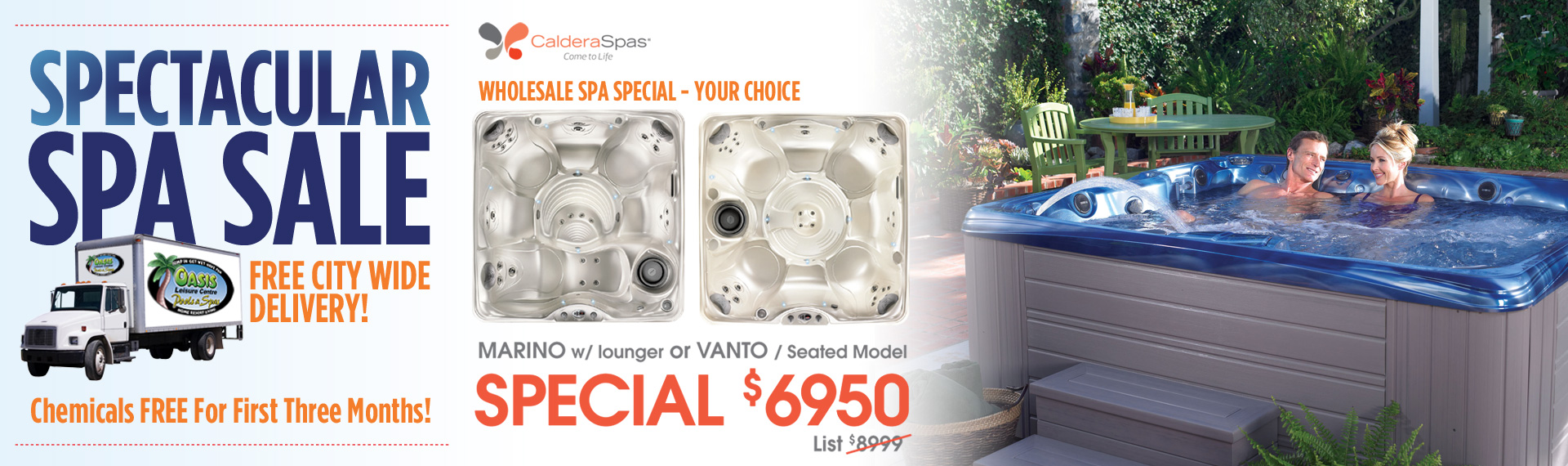 Spectacular Spa Sale