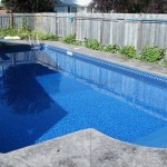Construction liner replacement pool renovation