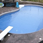 Flatback Kidney Inground Pool