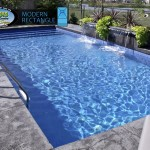Modern Rectangle Inground Pool