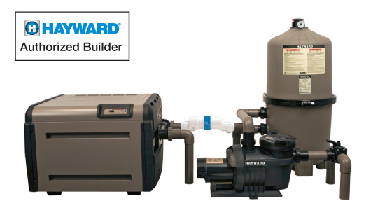 Platinum Inground Pool Package Hayward Equipment