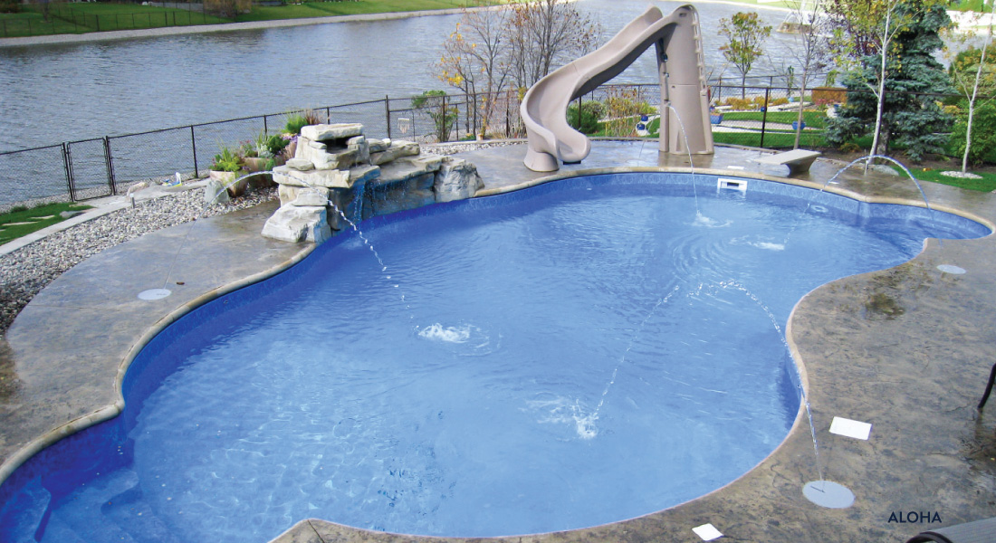 Inground Pool Package By Oasis Platinum Series