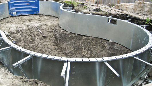 Platinum Inground Pool Package Integral Steel Supports