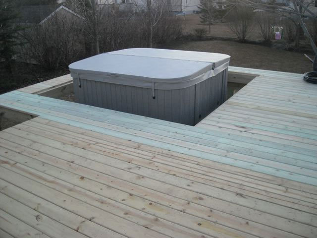 Sunken Hot Tubs Look Great But Need Access