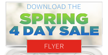 Download our Spring Four Day Sale Flyer