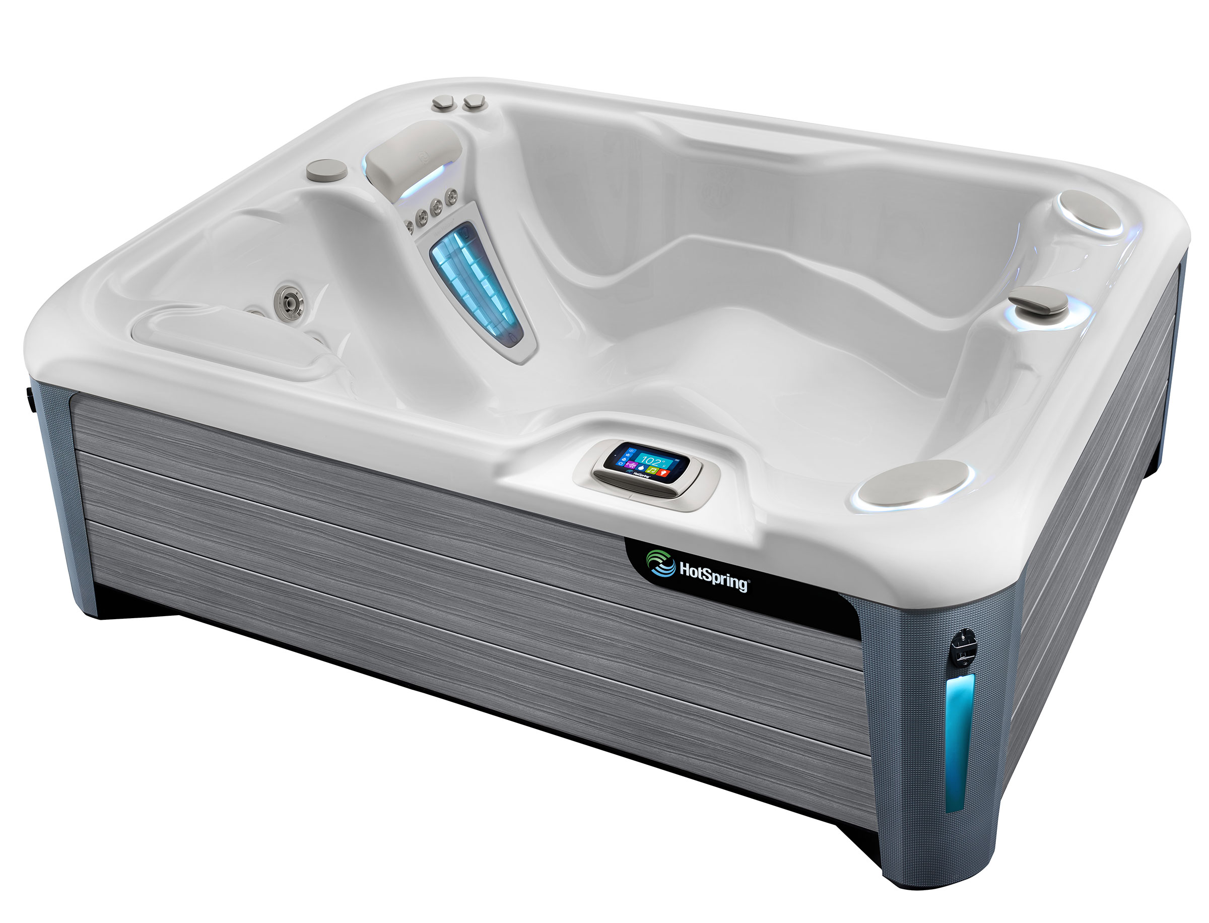 HotSpring-Highlife 2019 Jetsetter Alpine White Driftwood